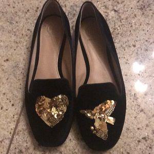 Black Velvet Tory Burch shoes